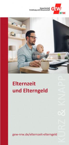 """Flyer """"Elternzeit / Elterngeld"""" (50 Stück)"""