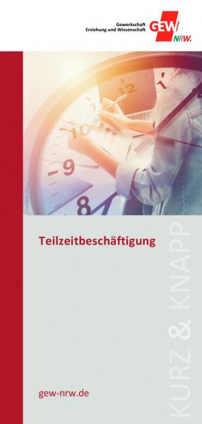 """Flyer """"Teilzeitbeschäftigung"""" (50 Stück)"""