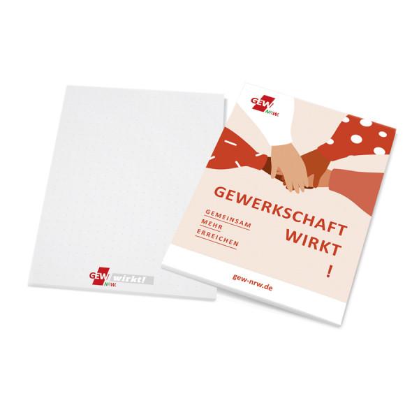 """Block """"Gewerkschaft wirkt!"""" (15 Stück)"""