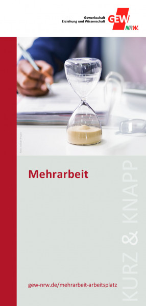"""Flyer """"Mehrarbeit"""" (50 Stück)"""