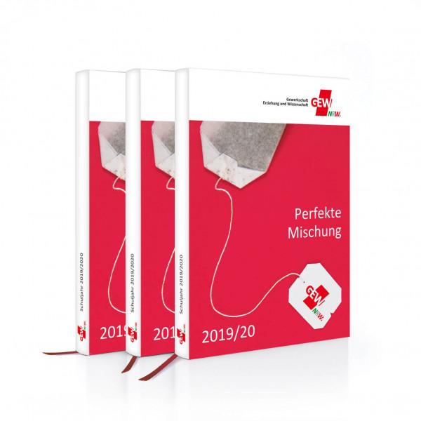 GEW-Taschenkalender mit Lesebändchen 2019/2020