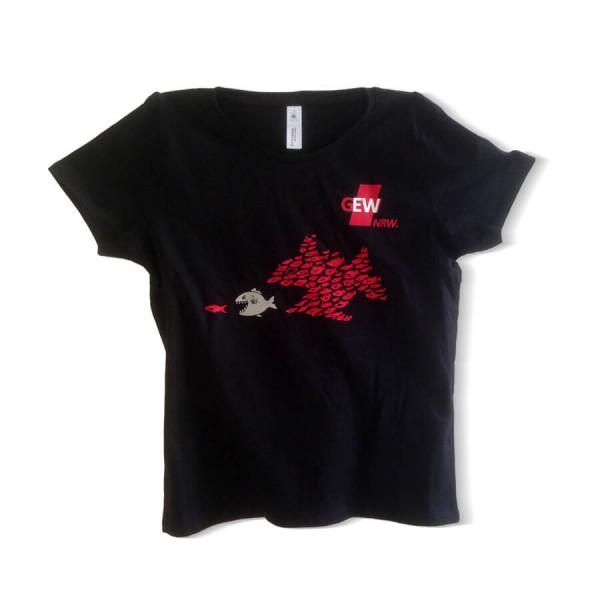"""GEW-Shirt """"Fisch-Motiv"""" Damen"""