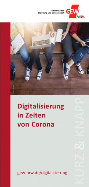 """Flyer """"Digitalisierung in Zeiten von Corona"""" (50 Stück)"""